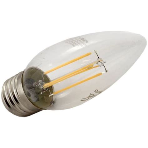 Limited Strom Led Bulb 3w 4 Watt Led Terbaru prolite 3w es led filament candle non dimmable 2700k