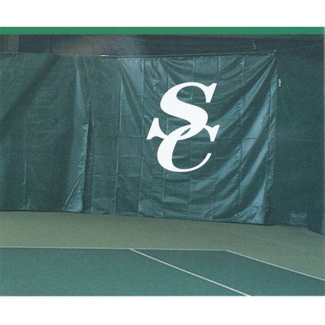 tennis backdrop curtains courtmaster backdrop curtain 18 oz tennis court equipment
