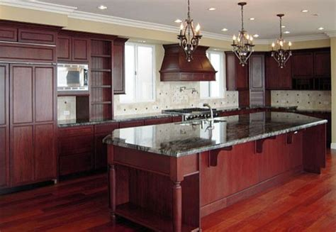 kitchen paint colors with cherry cabinets ideas