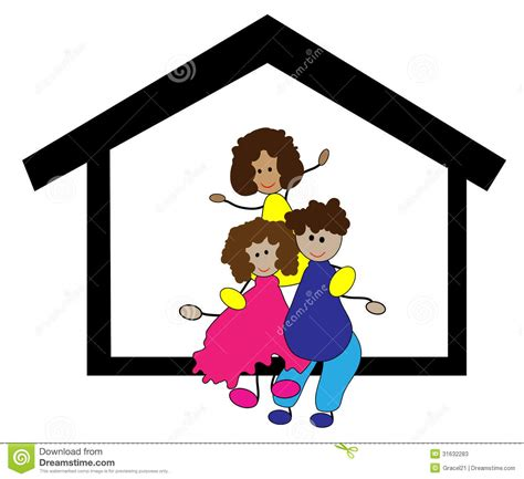 thesweethome com happy family in the home stock photos image 31632283