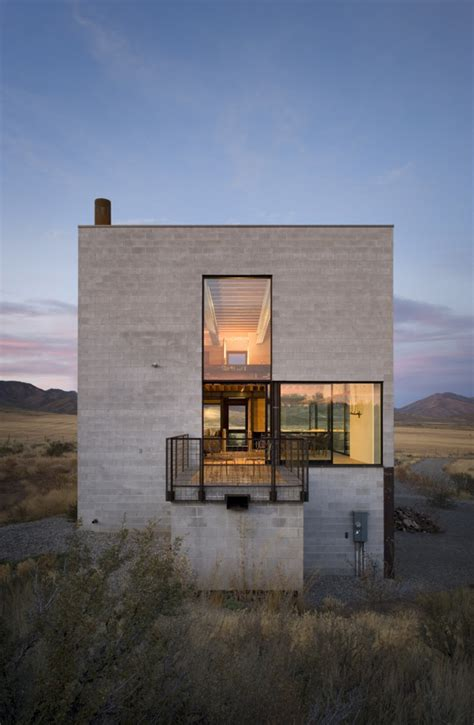 Cinder Block Homes Plans by Outpost By Olson Kundig Architects Enpundit