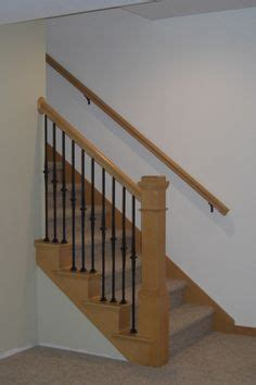Banister Ends by Part Wall Mounted Part Spindle Stair Rail Then Curved Banister End Search Reno Ideas