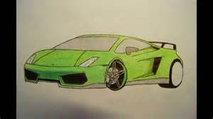 How To Draw A Lamborghini Easy How To Draw A Lamborghini