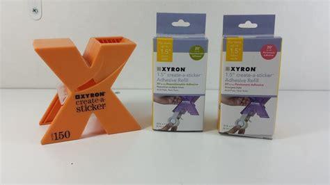 Xyron 150 X Create A Sticker Machine 5 inch create sticker machine scrapbook labels paper tags