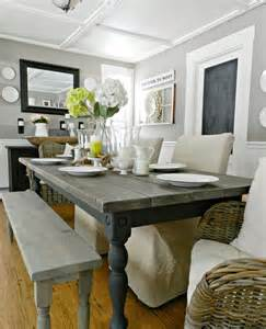 Cute Bathroom Decorating Ideas Colors 34 Farmhouse Dining Rooms And Zones To Get Inspired Digsdigs