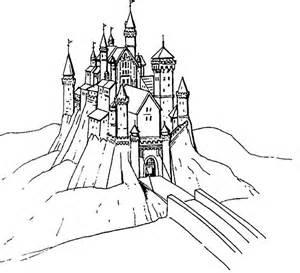 castle coloring pages coloringpages1001 com