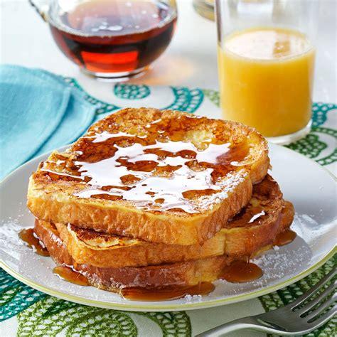 eggnog toast recipe taste of home