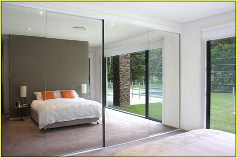 mirror closet doors for bedrooms mirrored closet doors menards a simple upgrade to any