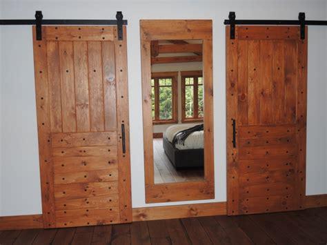 Porte De Grange En Bois by Porte De Grange En Bois Coullisante Atelier Meuble Rustique