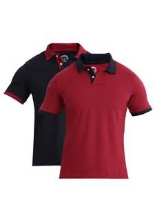 buy etc pack of 2 pique polo t shirts tshirts for