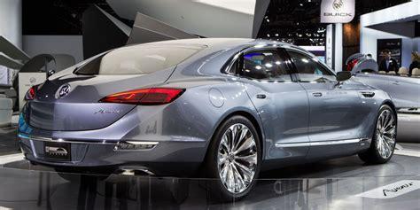 gmc sedan concept 2017 buick avenir interior future cars release date