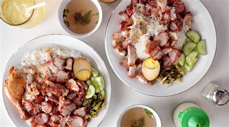 places  eat nasi campur pork mixed rice