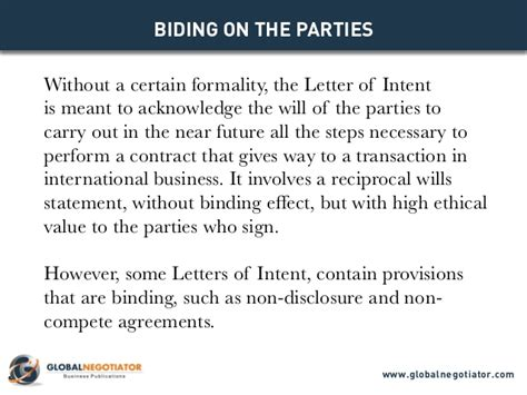 Letter Of Intent For Future Business Letter Of Intent Models For Business Negotiations