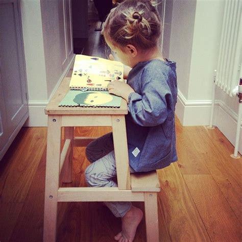 f rsiktig children s stool ikea ikea stool child s desk living space pinterest