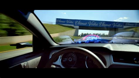 mustang heads up display blockbuster need for speed mustang rearview mirror