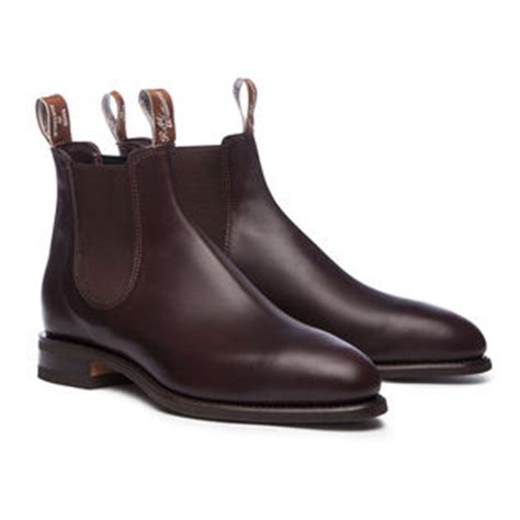 s leather boots handcrafted boots r m williams 174
