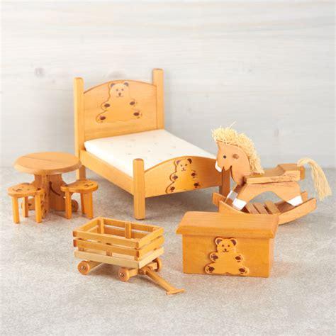 dollhouse miniature themed bedroom set nursery