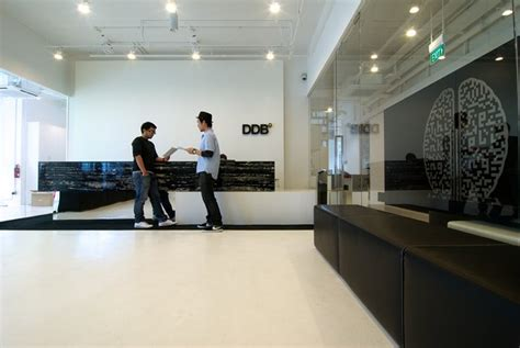 Advertising Agency Office Interiors by Ddb Office Interior Design By Bbfl Design Architecture
