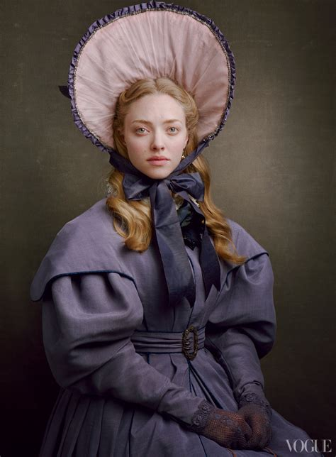 amanda seyfried les mis les miserables cast photographs by annie leibovitz collider