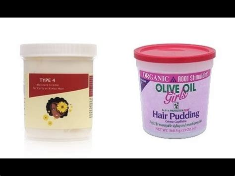 Myhoneychild Type 4 Hair Creme by Review Ors Hair Pudding And Myhoneychild Type 4