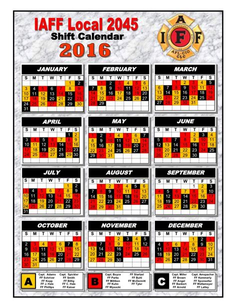 Firefighter Shift Calendar The Gallery For Gt Firefighter Shift Calendar