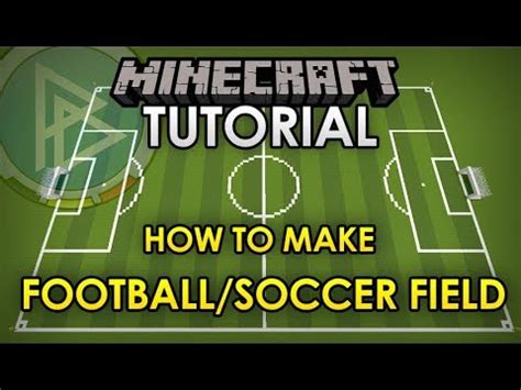 minecraft stadium tutorial how to make a football
