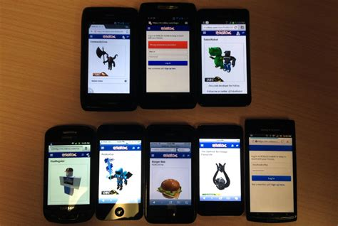 live mobile site roblox s mobile site m roblox now live for testing