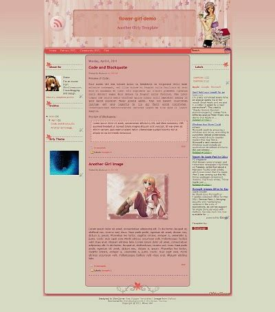 templates para blogger kawaii pastel fairy tears kawaii blogger templates xml