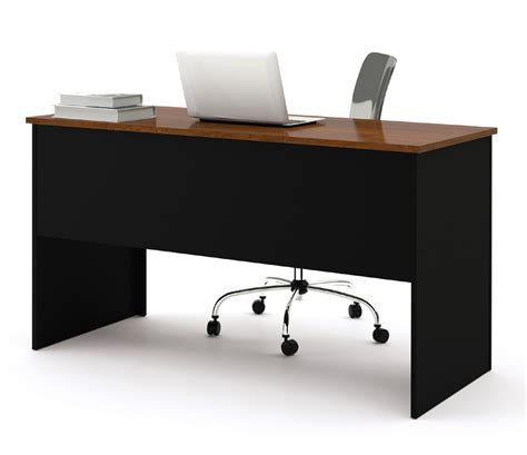 Bestar Somerville 2 Pedestal Executive Desk On Desk