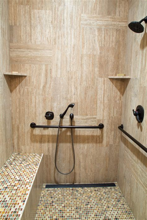Great Small Bathroom Ideas Handicap Accessible Shower