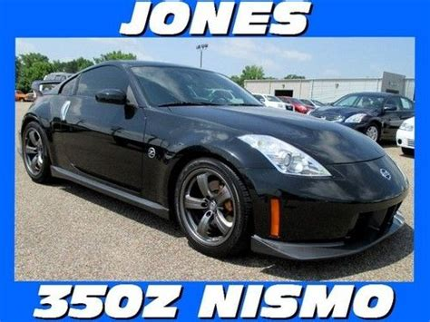 buy used 2007 nissan 350z nismo manual magnetic black pearl in savannah tennessee united states