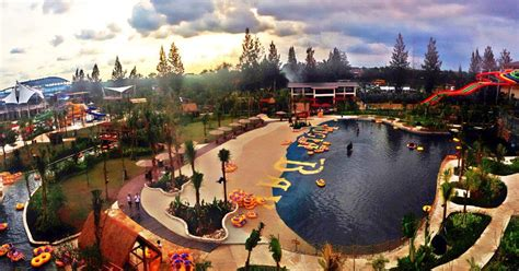 jogja bay largest waterpark  indonesia existing