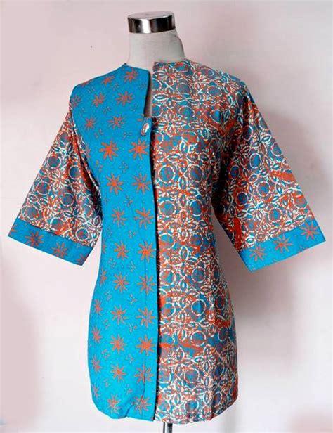 Kebaya Batik Rinjani blus batik rinjani mix 07 baju kerja batik