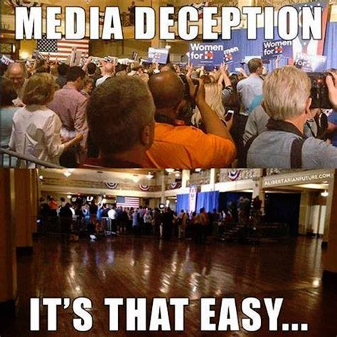 Media Memes - how media deception works brilliantly summed up by a