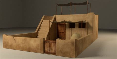 ancient middle eastern homes with flat roofs ancient house by ahashem 3docean