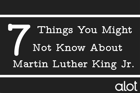 7 Things About Stiles You Might Not by 7 Things You Might Not About Martin Luther King Jr