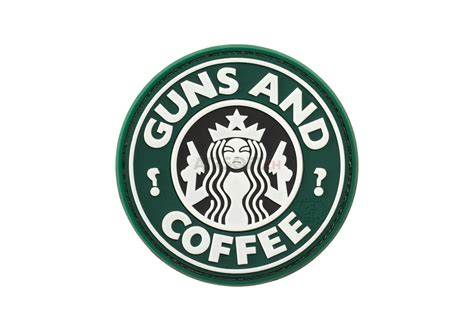 Patch Rubber Patch Pomal Huruf 1 guns and coffee rubber patch color jtg rubber patches patches equipment airsoft ch