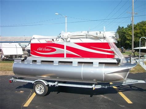 used gillgetter pontoon boats for sale in michigan 13 foot boats for sale in mi boat listings