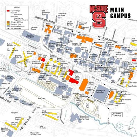 Ncsu Find Nc State Cus Map My
