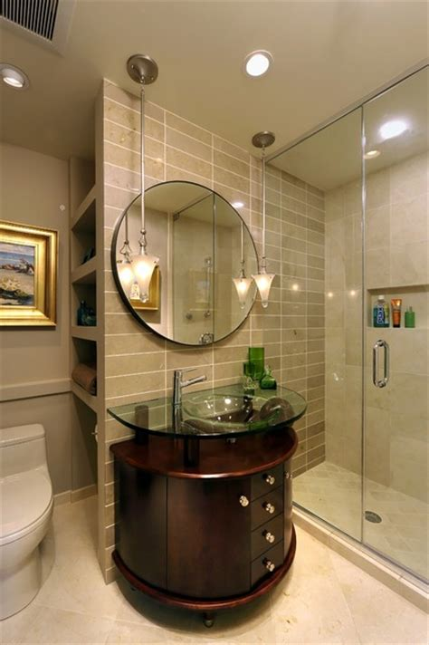 Elegant Small Bathrooms | elegant small bathroom in mclean