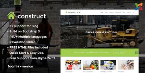 joomla theme detector online construct construction joomla template