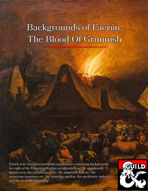 descargar libro the orc king forgotten realms novel transitions trilogy bk 1 rough cut edition forgotten realms transitions trilogy en linea backgrounds of faer 251 n the blood of gruumsh dungeon masters guild dungeon masters guild