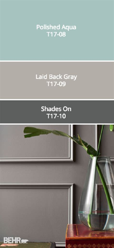 check out this moody gray color palette from behr s collec