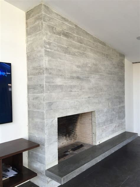 Hanging Pendant Lights Over Kitchen Island concrete board form fireplace floating concrete hearth