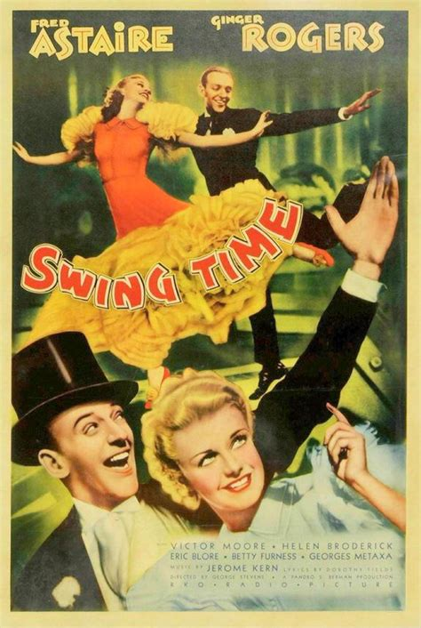 movie swing time swing time songbook