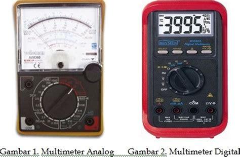 Multimeter Listrik pengukuran listrik menggunakan avo meter