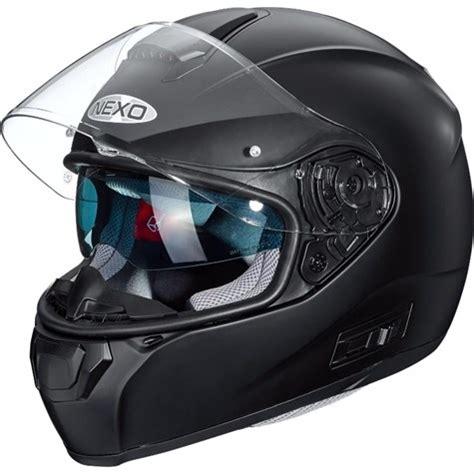 nexo  full face helmet comfort matt black