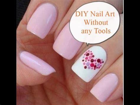 Easy Nail Art Without Any Tools   diy nail art without any tools nail art designs easy