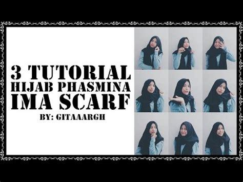 Pashmina Ima Denim Rawis tutorial pashmina denim ft hijabuptodate doovi