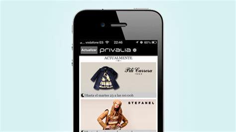 privalia mobile app privalia supera el 20 de ventas generadas desde